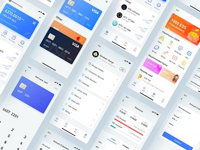 Block Chain Wallet app ui