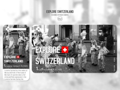 explore Switzerland   Web & App