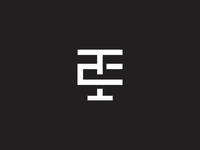 TE Monogram Logo Design