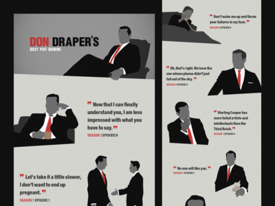 Mad Men Illustrations