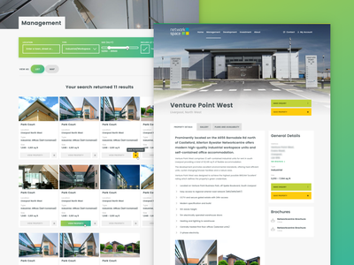 Property Search web website design branding ux ui real estate location management property management search property search property