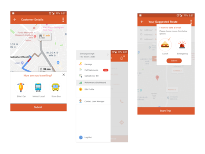 Delivery Executive App
