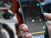 Motomemo app