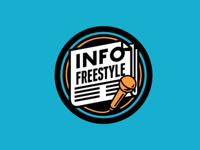 Info Freestyle rap logos branding freestyle