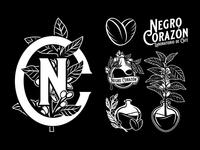 Negro Corazón 2/3