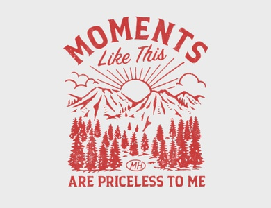 MOMENTS LIKE THIS ARE PRICELESS TO ME merch design badge graphicdesign logo handrawn vintage logo punkrock band merchandise vintage illustration artwork