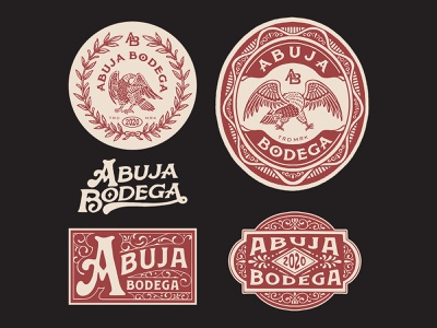 Design for Abuja Bodega, Nigeria vector logo artwork handrawn graphicdesign illustration vintage logo branding vintage