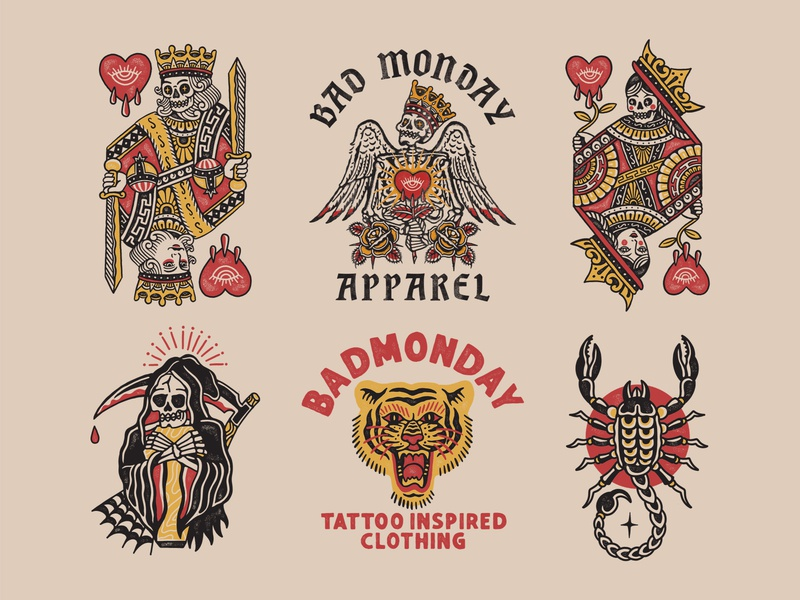 Badmonday design collection