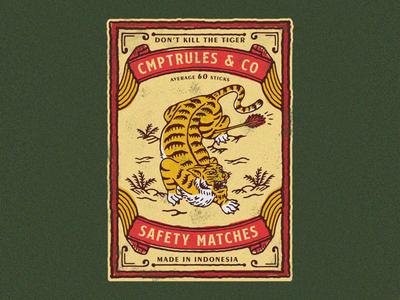 Don't Kill The Tiger - Matchbox