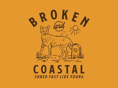 Design for Broken And Coastal Magz.
