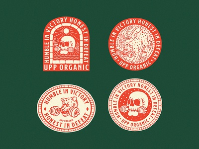 Some exploration Badge for Upp Organic