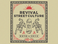 Design for REVIVAL STREET WEAR