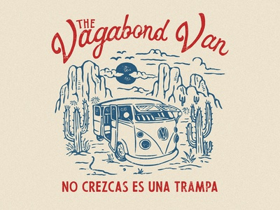 One of many design for THE VAGABOND VAN