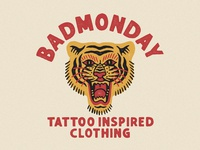 Tiger for Badmonday Apparel