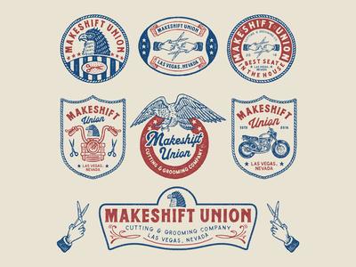 Branding for MAKESHIFT UNION