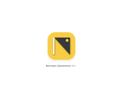 National Geographic App Icon