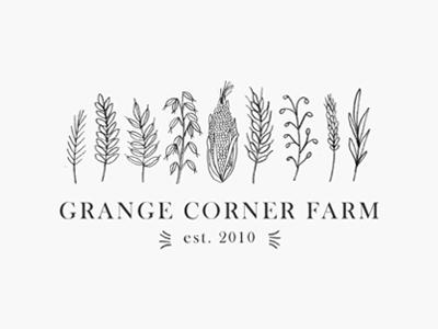grange corner farm / proof no.2 illustration logo proofs
