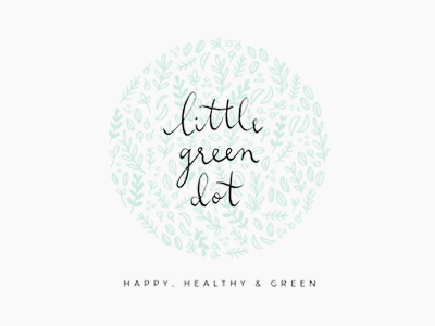 little green dot / proof no.1 logo proofs calligraphy illustration