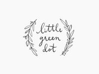 little green dot / proof no.3