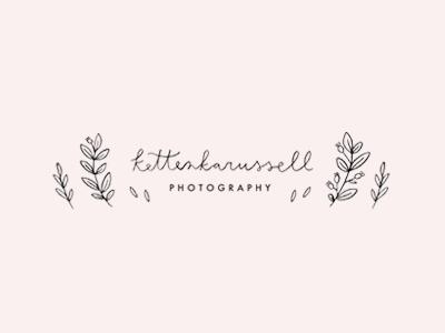 kettenkarussell / proof logo proofs hand lettering illustration