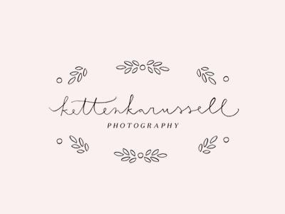 kettenkarussell / logo logo proofs script hand lettering illustration