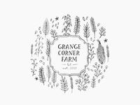 grange corner farm / logo