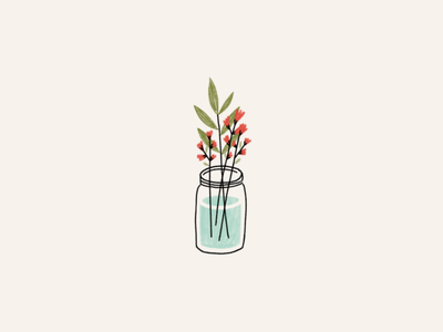 Plant Jar illustration plant