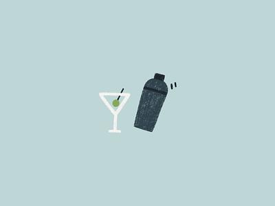 martini illustration drawing illustration bar shaker martini