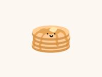 cute pancake illustration