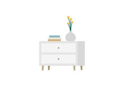 Dresser illustration dresser furniture