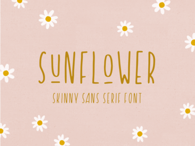introducing: sunflower