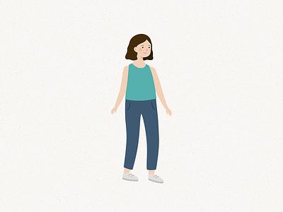 girl illustration vector people girl character girl illustration girl