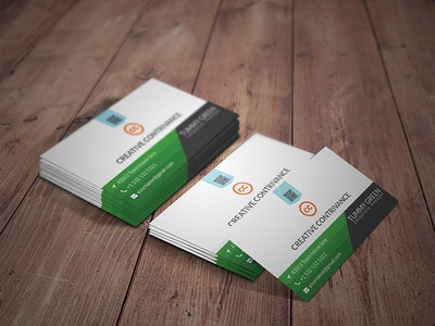 Premium Business Cards Designs Themes