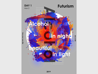 Futurism poster day 1-2