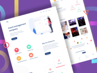 Event Company Landing Page