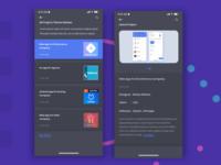 Team App Latest Project Dark