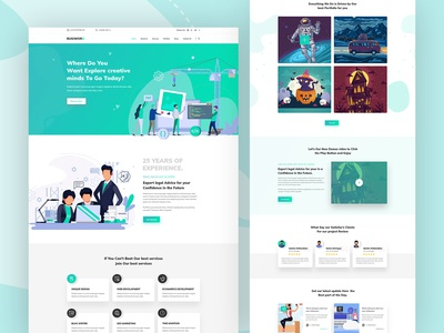Busiword 2 - Multipurpose Business and Agency Template