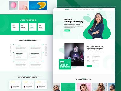 Techopz - Personal Portfolio, CV & Resume minimal bootstrap illustration new illustrator webiste web design ux design uiux ui theme resume portfolio personal design landing page page landing