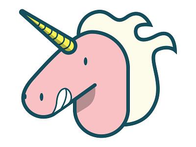 Awesome Unicorn pink illustration unicorn majestic
