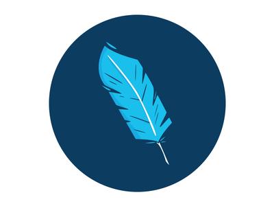 Feather digital art art illustrator illustration feather