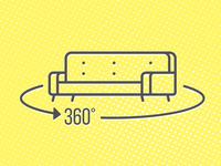 Rotate Furniture Icon