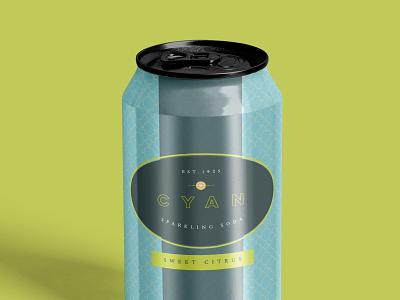 Soda Branding soda can soda graphic design brand and identity