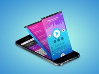 Mobile App Design | Music Player App Design