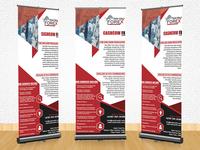 Roll-up Banner Design | Business Poster Design