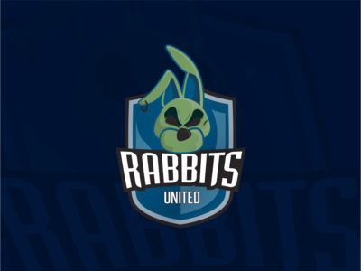 Rabbits United Team Logo