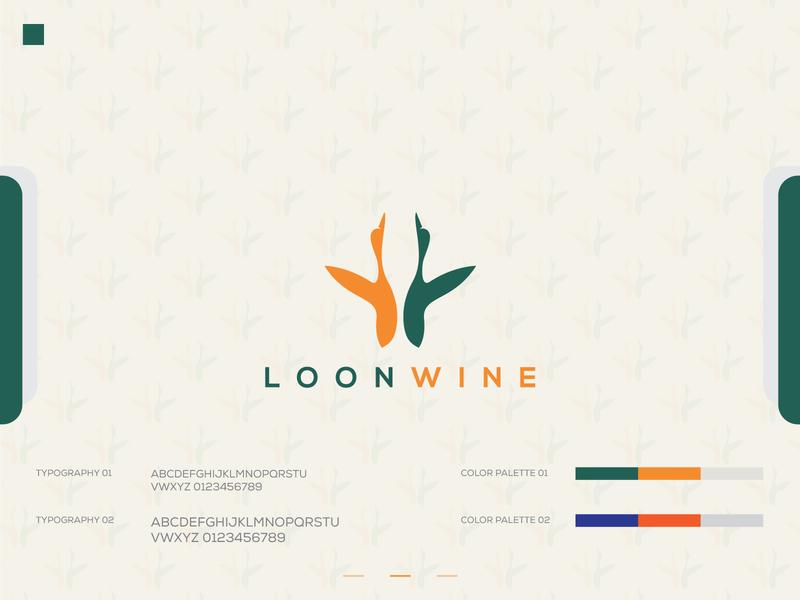 LOONWINE LOGO DESIGN