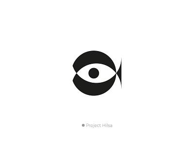 Project hilsha - Golden ratio logo logo illustration design startup b2b product software application desktop saas sass b2c icon illustrator color flat grid gloden ratio business agency service branding identity design