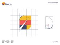 Fileco (File+ECO) logo Creation