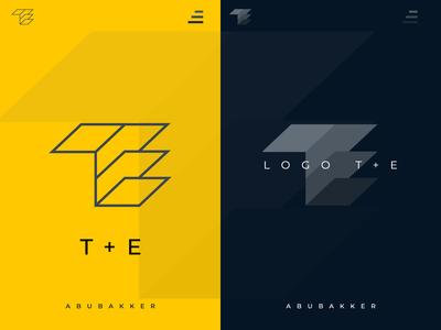 LOGO DESIGN WORK T+E