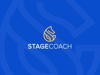 Minimal logo Design- StageCoach